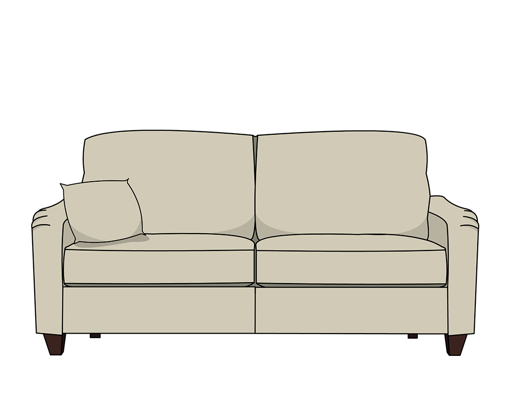 Coop couch by Denis Horvat