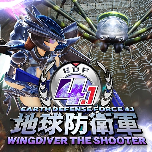 EDF 4.1 WINGDIVER THE SHOOTER