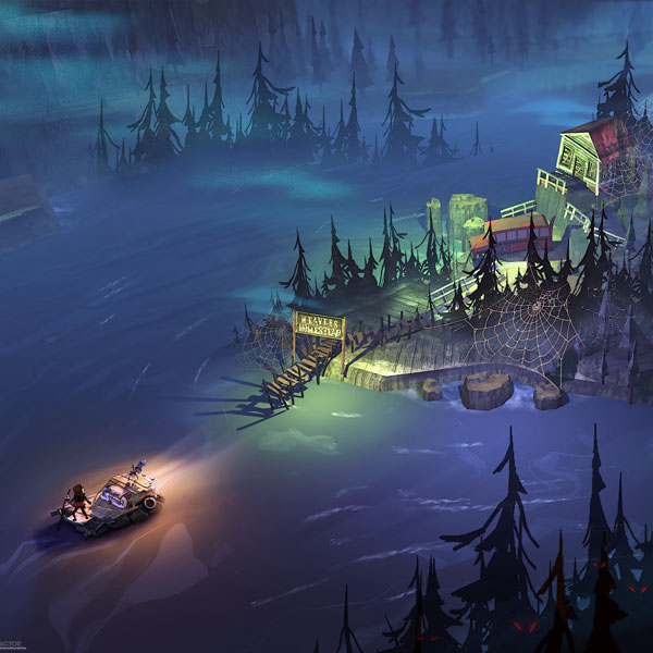 The Flame in the Flood background